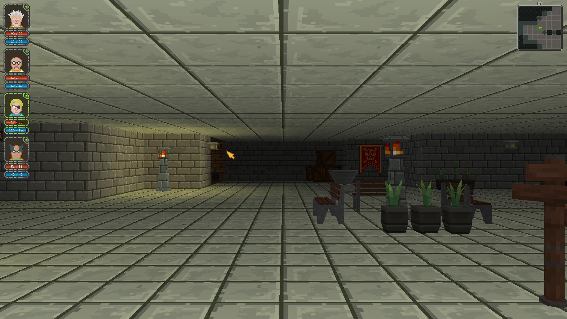 Обои шахта, обои, квадрат, свет. Абстракции foto 4