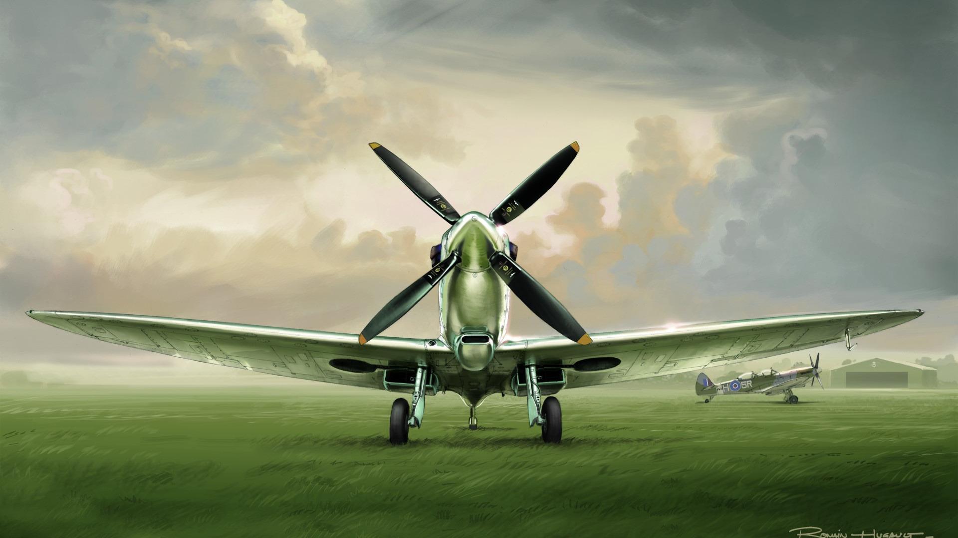 Обои взлетная, истребитель, Самолёт, полоса, мощь, тень, фотографа. Авиация foto 3