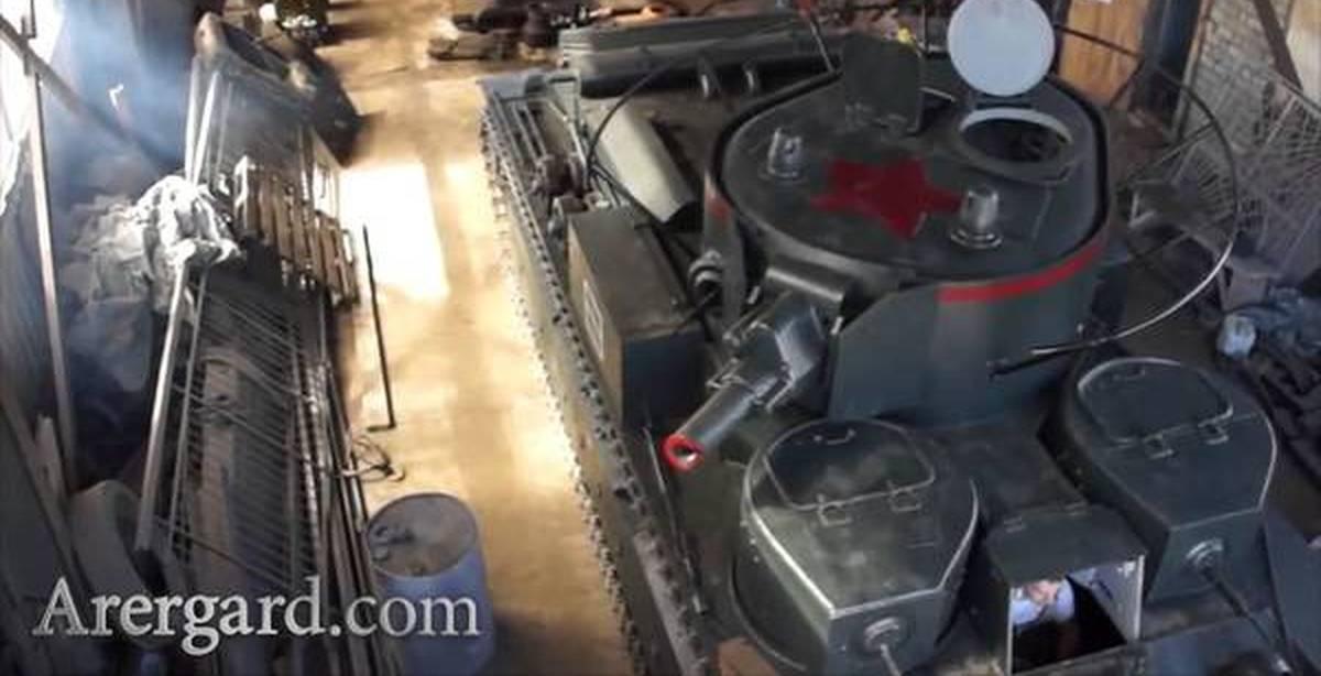 0 танк т-26